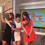 Jacqueline , Jaycee, &Aly w Swords